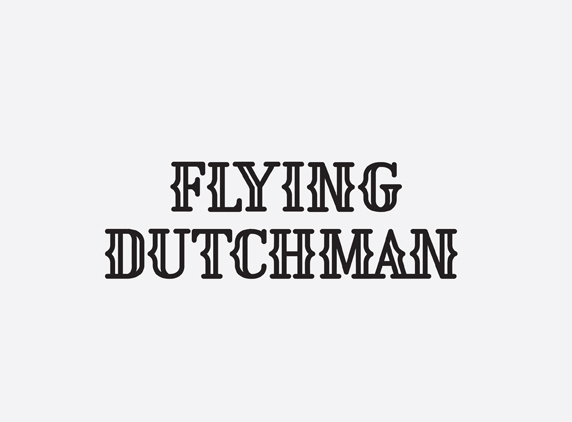 mkn design Michael Nÿkamp #mafia #line #dutchman #hair #flying #illustration #typography