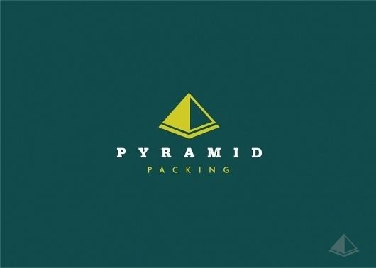 Pyramid Packing, London – Logo Design | UK Logo Design #logo #design
