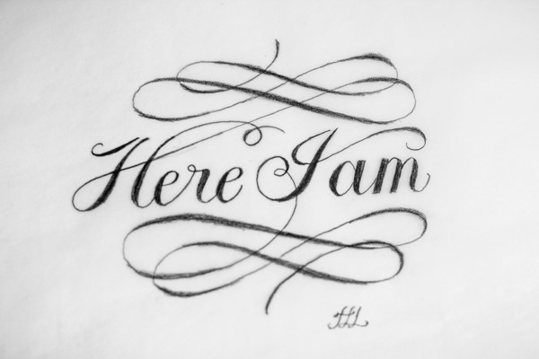 Hand Lettered Logostumblr Calligraphy