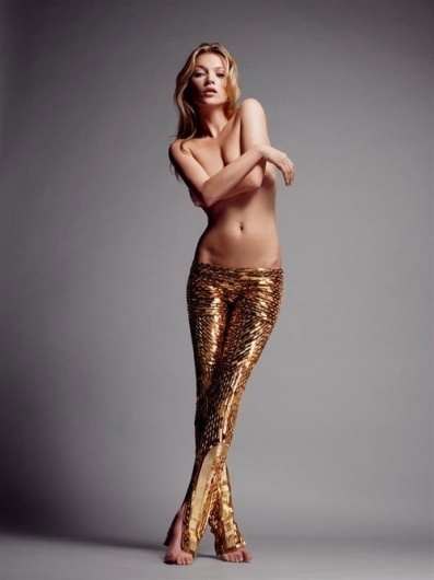 Lustful Embraces #woman #nude #body #simple #gold #fashion