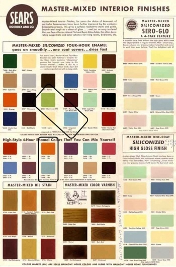 WANKEN - The Blog of Shelby White » The Colors of Mid-Century Modern #color #midcentury