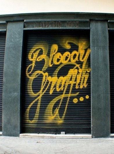 tumblr_m2we4efN1r1r8rqado1_1280.jpg (759×1024) #yellow #tag #grafiti