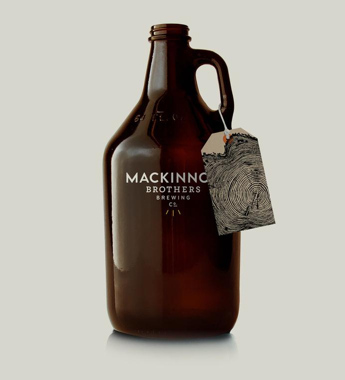 MacKinnon Brothers Brewing Co. #branding #beer #package design #packaging #canada #brewery #craft beer #growler