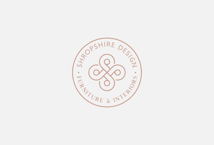 Shropshire Design by Alan Cheetham #logo #logotype #mark #symbol