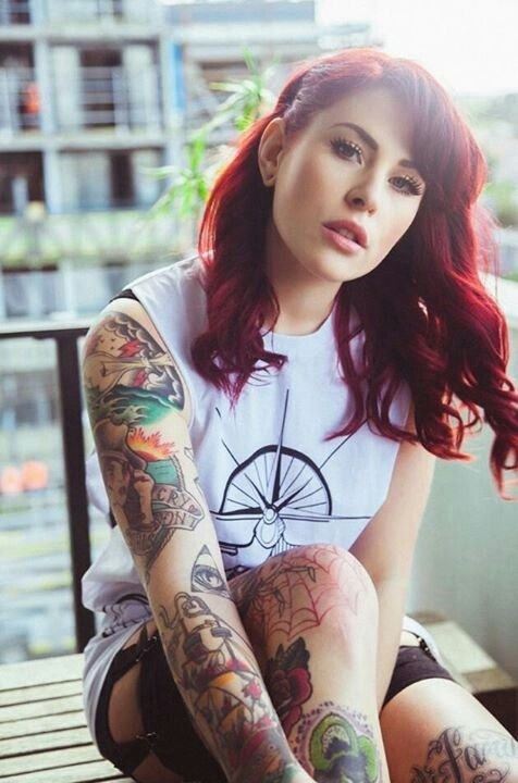 Delicious Inked Girls