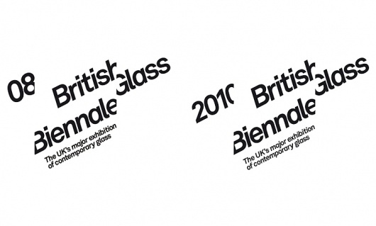 Mytton Williams Brand & Design - British Glass Biennale #logo #identity
