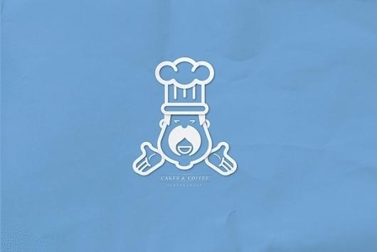 Cakes & Coffee™ on the Behance Network #branding #design #minimalism #brand #identity #logo #typography