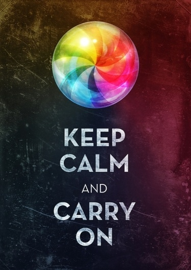 Keep Calm Art Print by Michael Flarup | Society6 #calm #beachball #poster #keep