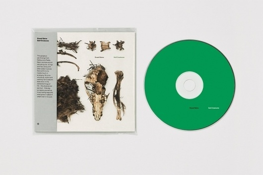 Mark Gowing Design   Packaging   Grand Salvo: Soil Creatures #packaging #record