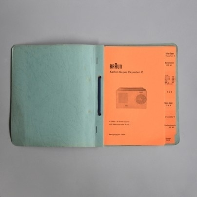 Braun electrical - Print material / artwork - Braun Kundendienst #book