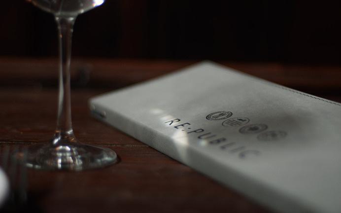 Re:public Restaurant & Bar « Superbig Creative #branding #menu #print #food #restaurant #identity #layout #typography