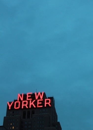 I love monday #sign #new #yorker #photography #neon