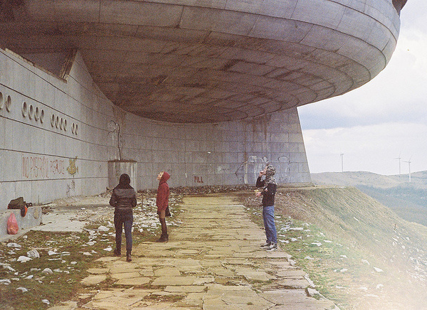 Monument #path #peak #buzludzha