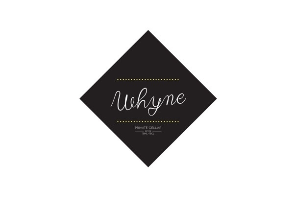 WHYNE Private Cellar Wine Logo's #logos #drink #vino #food #wine #logo #wines