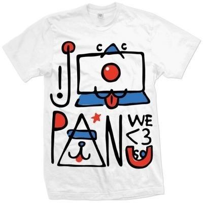 Japan We <3 U So tee - Tee Shirts #sold #we #u #out #3 #tee #japan #so