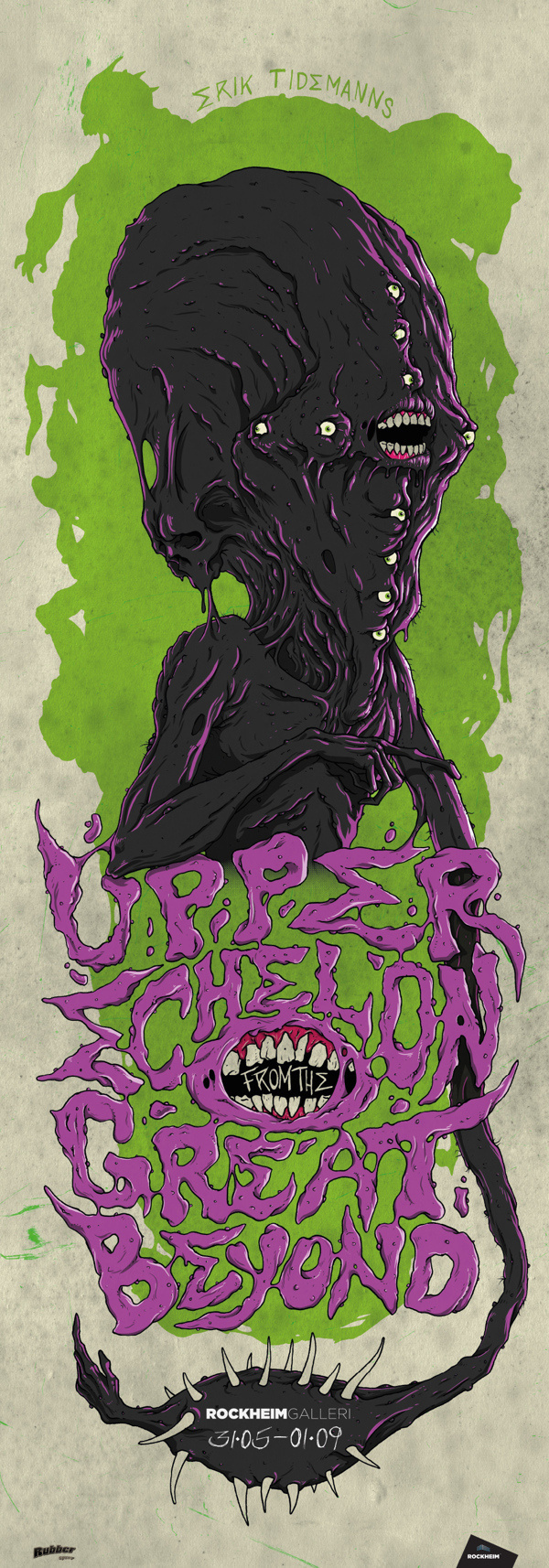 Upper Echelon from the Great Beyond on Behance #illustration #olav #sheim #typography