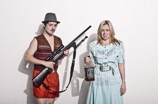 rec everything #whiskey #couple #photography #guns #portrait #engagement