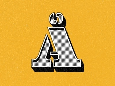 Dribbble - Making my own posters by Ole Martin Kristiansen #yellow #lettering #color #typography