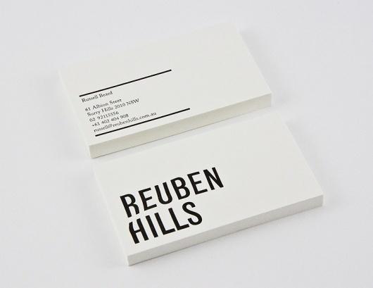 Reuben Hills - Luke Brown #card #business