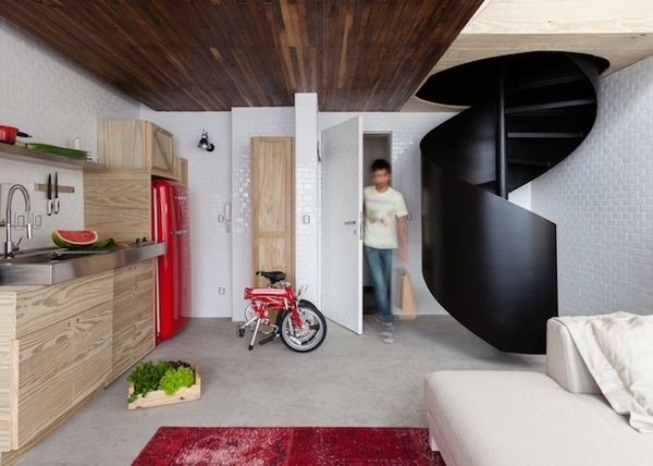 No Joke: This 380 Square Foot Apartment Actually Feels Spacious | Wired Design | Wired.com #home