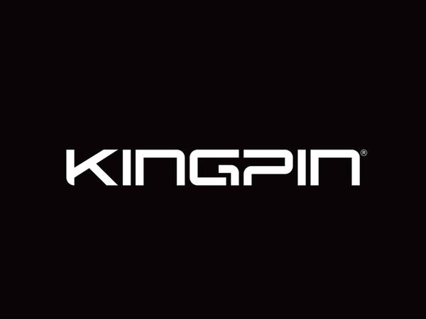 KINGPIN // Wayne Morpeth // Behance #zealand #kingpin #branding #typography #clean #brand #skate #logo #new