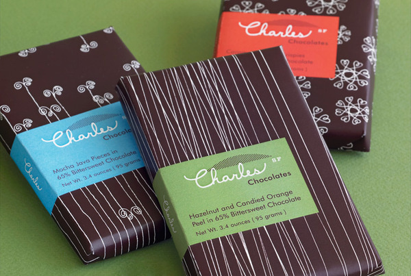 Brand Identity & Almond Packaging #hatchsfcom #packaging #design #chocolate #hatch