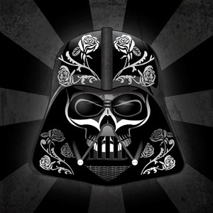 Darth Vader Día de Muertos México #darth #skull #vader #sugar