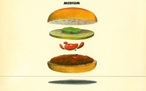 / #illustration #hamburger