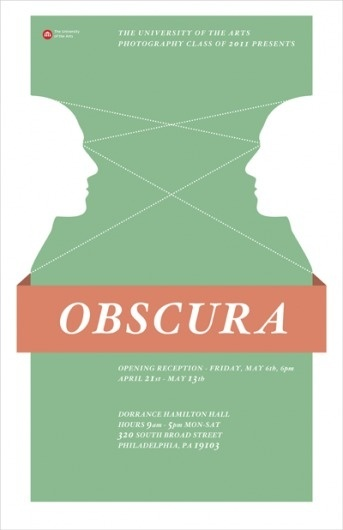 John Helmuth | Portfolio #green #flyer #poster #face #obscura