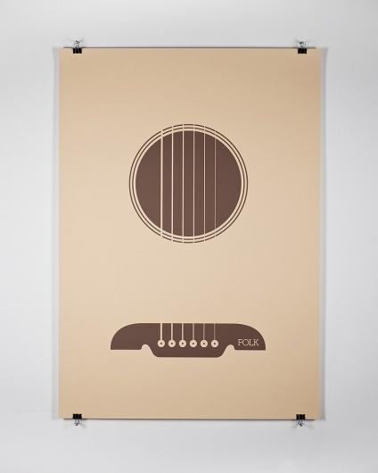 Edits by Edit — Manual Creative —Folk #guitar #design #graphic #minimal #poster