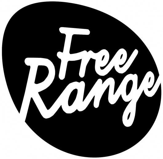 Free Range Black&White Logo Jpeg.jpg (JPEG Image, 1169x1141 pixels) #bw #identity