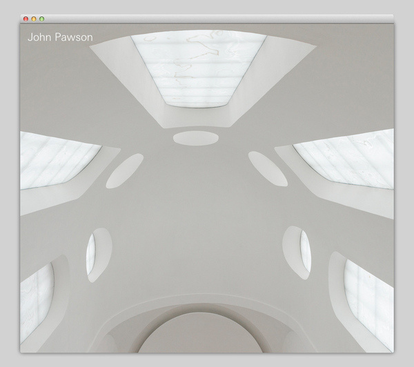 John Pawson #website #layout #design #web
