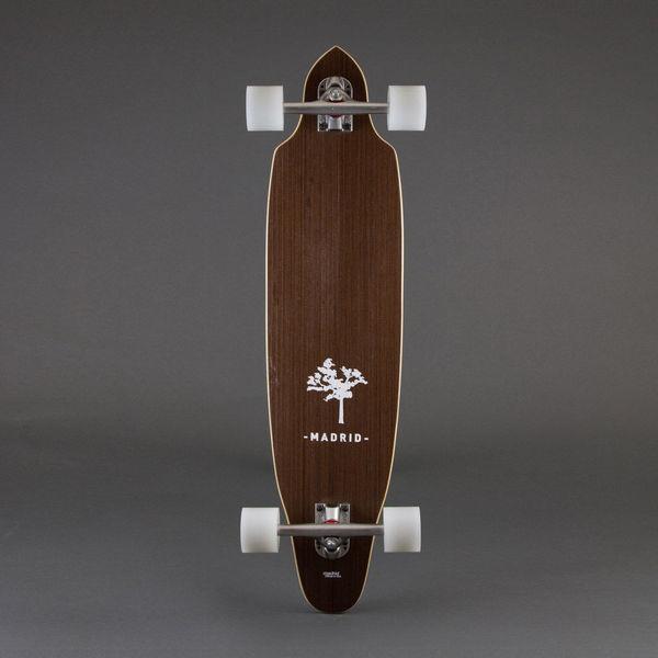 "SQUID EXOTICS / 36"" | Madrid Skateboards #longboard #tree #madrid #board #wood #skateboard"