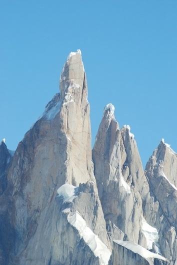 ♃ #rock #mountain #snow #sky