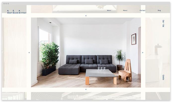 Albert Escola website on wow-web #wow-web #architect #portfolio #design #achitecture #website #web #online