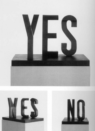 myedol: Yes/No by Marcus Raetz - Good typography #design #graphic #typography