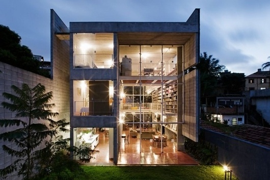 Querosene House « These Old Colors #house #modern #brazilian #architecture #sao #querosene #paulo