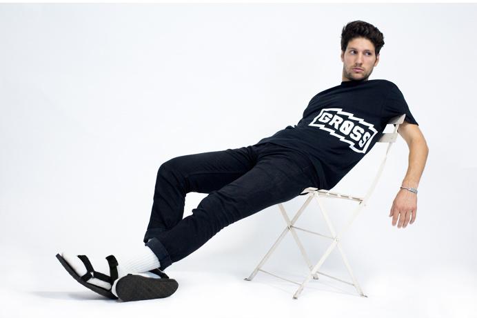 #blackandwhite #shirt #tshirt #branding #identity #merchandising #teva #sandals #socks #studio #photography #product