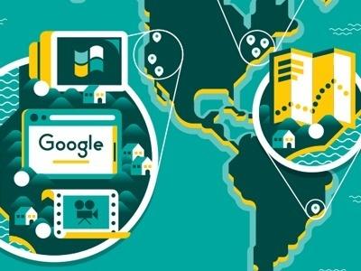 Gq_ger_003 #vector #map #illustration #google #editorial