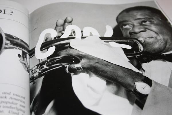 Michael Arnold #arnold #michael #jazz #design #illustration #editorial #magazine #typography