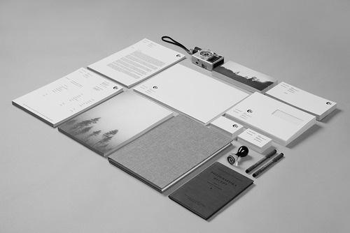 Branding #black #brochure #white #branding