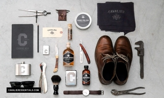 Cavalier Essentials by Taylor Pemberton | Allan Peters #products #design #men #cavalier