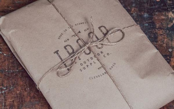 Justin Crutchley Troop Union Supply #branding #apparel #print #design #vintage #logo