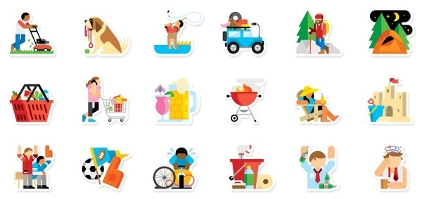 Path Stickers Always With Honor #icons