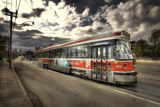 The 504 #streetcar #transit #ttc #the #504 #hdr #toronto #transportation