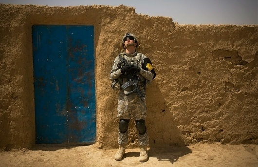 Recent scenes from Iraq - The Big Picture - Boston.com #war #waiting #soldier #iraq