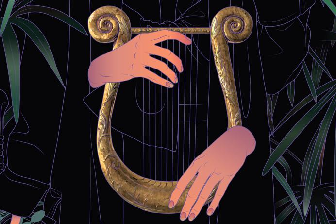 Harp by Maria uMiewska