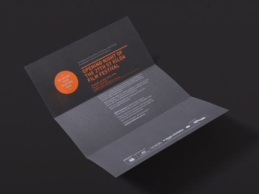 Studio Brave – SI Special | September Industry #invite #poster #typography