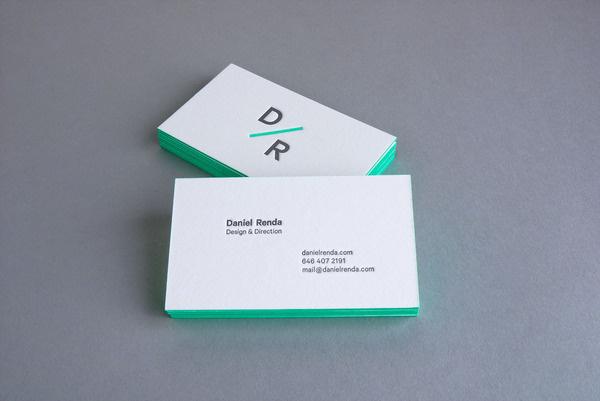 Personal Identity Daniel Renda #business #card #design #graphic #identity