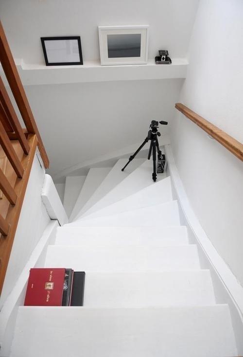 in the kitchen #interior #white #in #design #the #kitchen #stairs